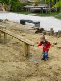 Gyerekvilág a természetben - vizes játszó